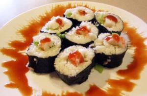 Вред суши и роллов