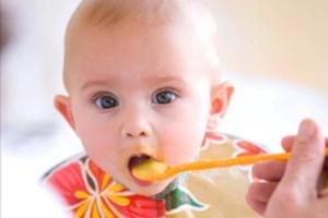 Питание ребенка в 8 месяцев: меню