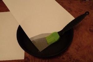 Промасленная бумага для выпечки