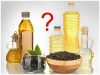 Рафинированное и нерафинированное масло: отличия, польза и вред