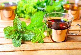 Чай с мятой - польза и вред