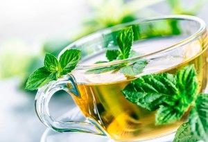 Чай с мятой